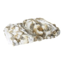 De Wonderkamer Rabbit fur plaid