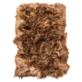 De Wonderkamer Icelandic sheep fur plaid