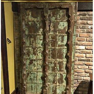 Antiek Indische antieke deur ornament