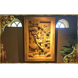 De Wonderkamer Handmade wood carving