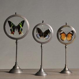 Set de 3 Naturalistes Ronds - Papillons