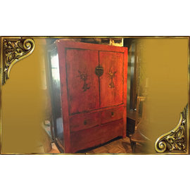 old chinese closet