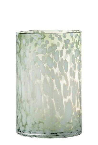 Windlicht Glas WHITE (Large)