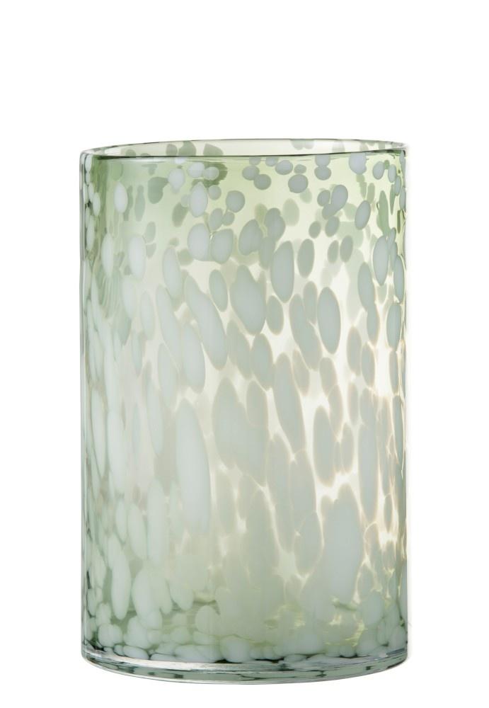 Windlicht Glas WHITE (Large)-1