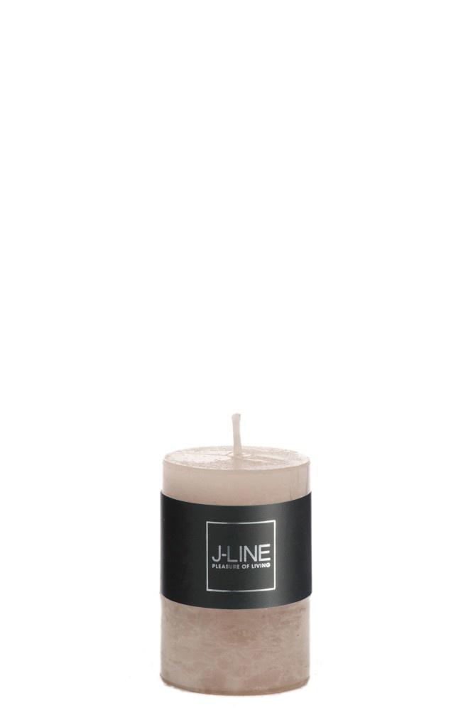 Kaars Cilinder - Zand (small - 18h)-1