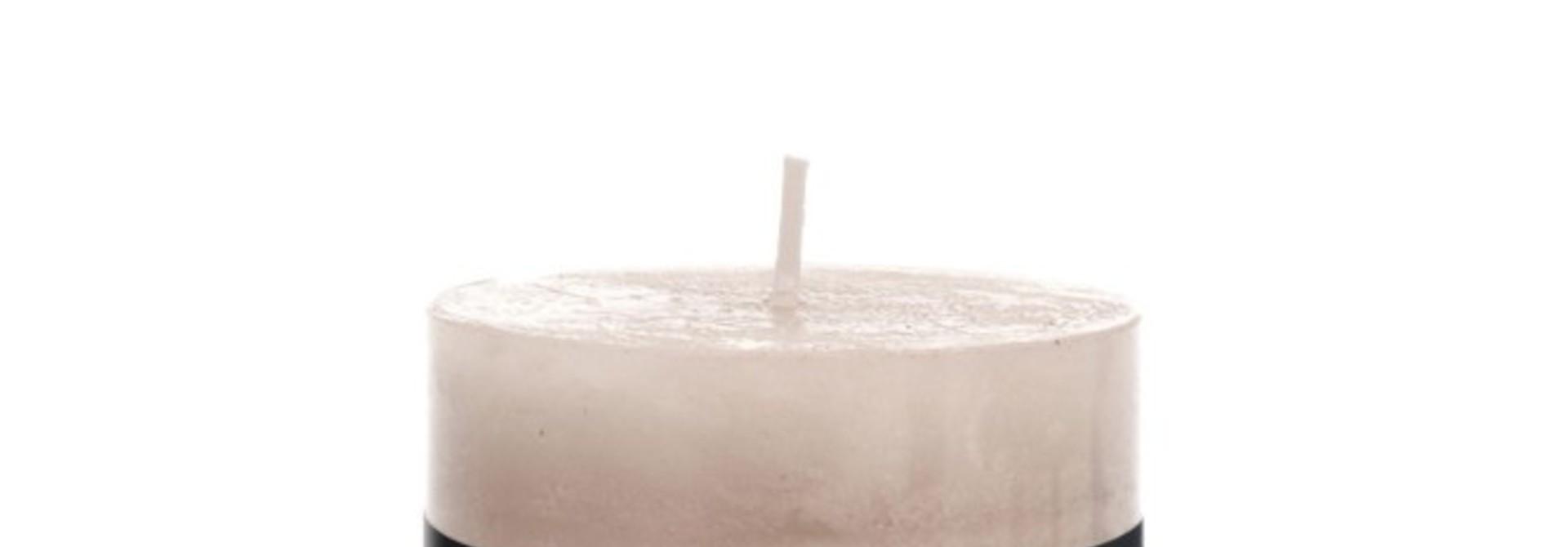 Kaars Cilinder - Zand (medium - 42h)