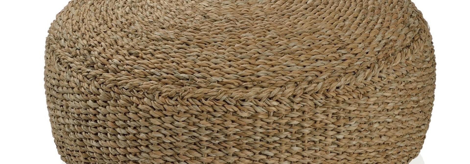 Rond zitkussen - Seagrass D 60 x 20 cm (ENKEL AFHAAL)
