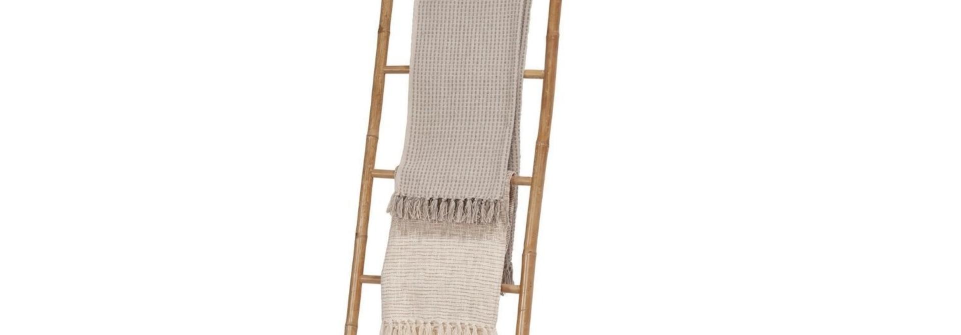 Decoratieve Ladder - Bamboo 55 x 200 cm (ENKEL AFHAAL)
