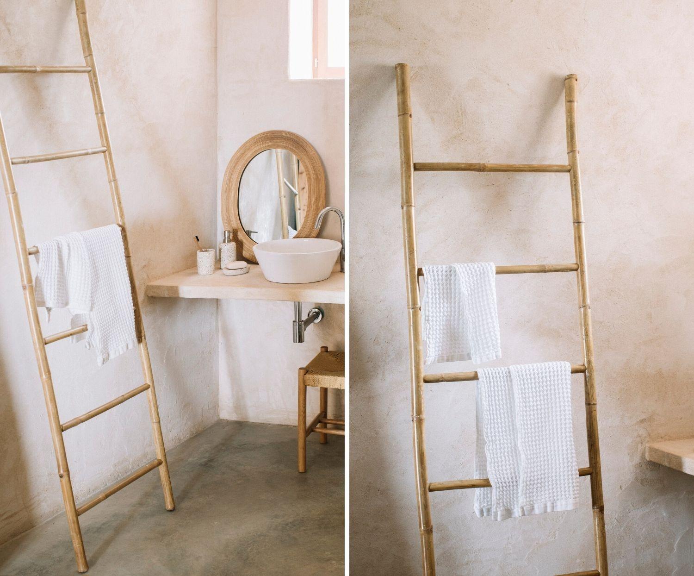Decoratieve Ladder - Bamboo 55 x 200 cm (ENKEL AFHAAL)-4