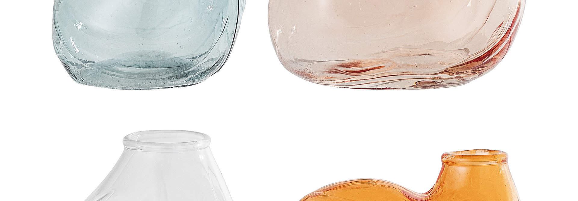 Miniset vazen - Multicolor - 6 x 4 x 4,5 cm