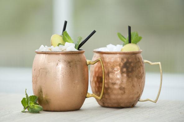 Drinkbeker MOSCOW Mug Gehamerd Koper-4