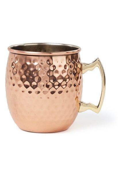 Drinkbeker MOSCOW Mug Gehamerd Koper
