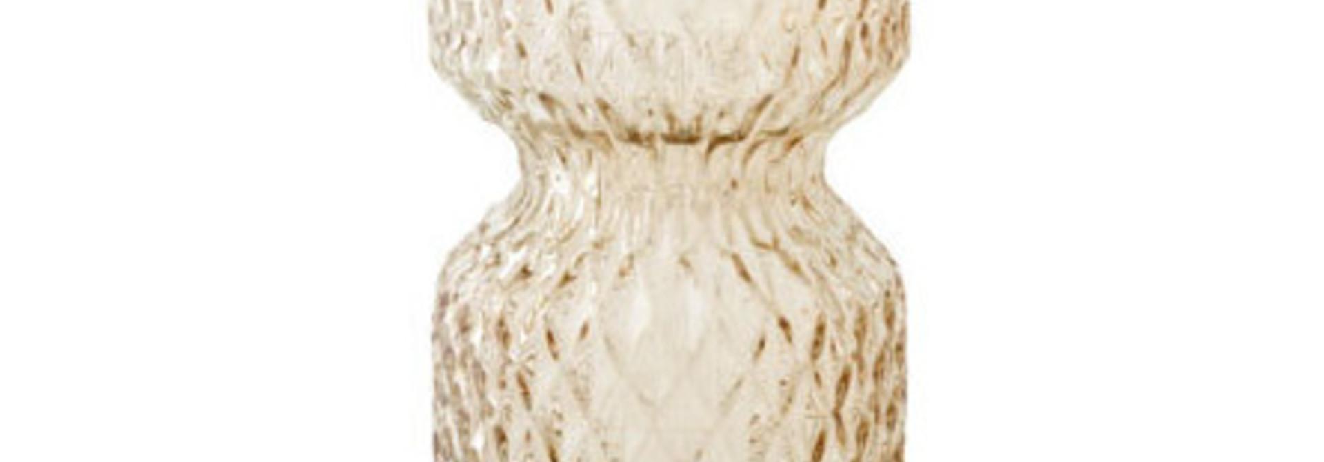 Vaas Firenze - Beige Glas D7 x H15 cm
