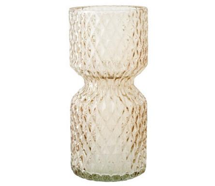 Vaas Firenze - Beige Glas D7 x H15 cm-1
