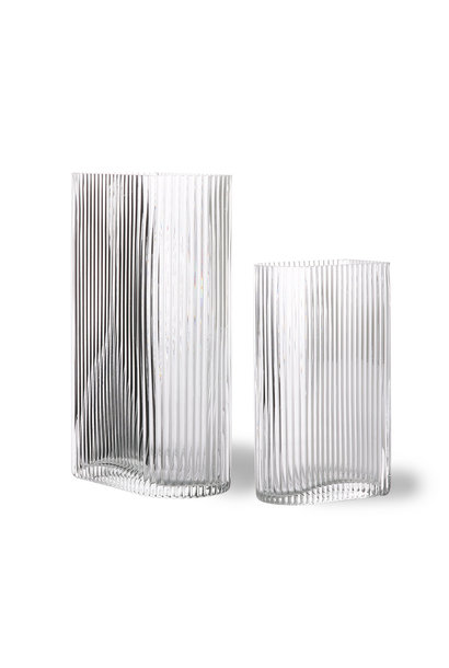 Vaasset CLEAR RIBBED