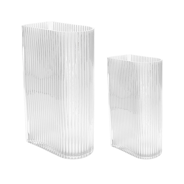 Vaasset CLEAR RIBBED-2
