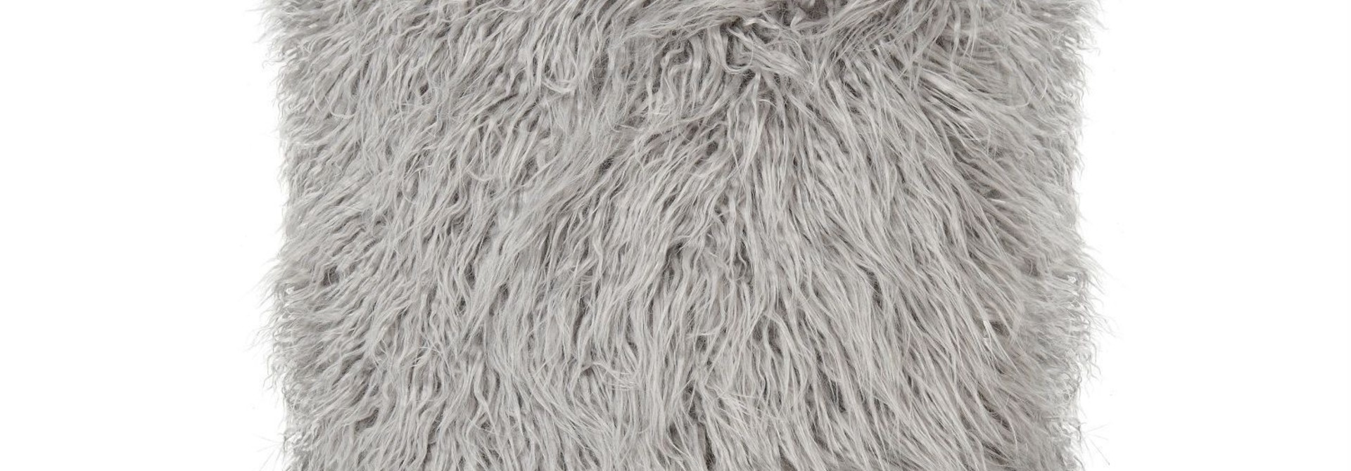 Kussen Acryl  - Grijs Mongolian - 45 x 45 cm