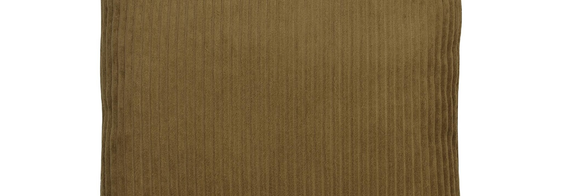 Kussen Dark Beige Corduroy Velvet - 45 x 45 cm