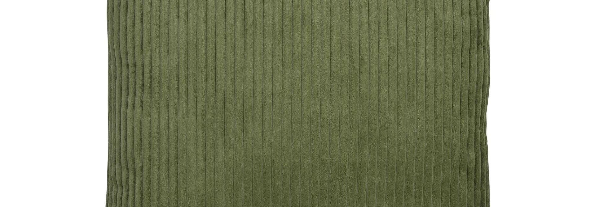 Kussen Green Corduroy Velvet - 45 x 45 cm