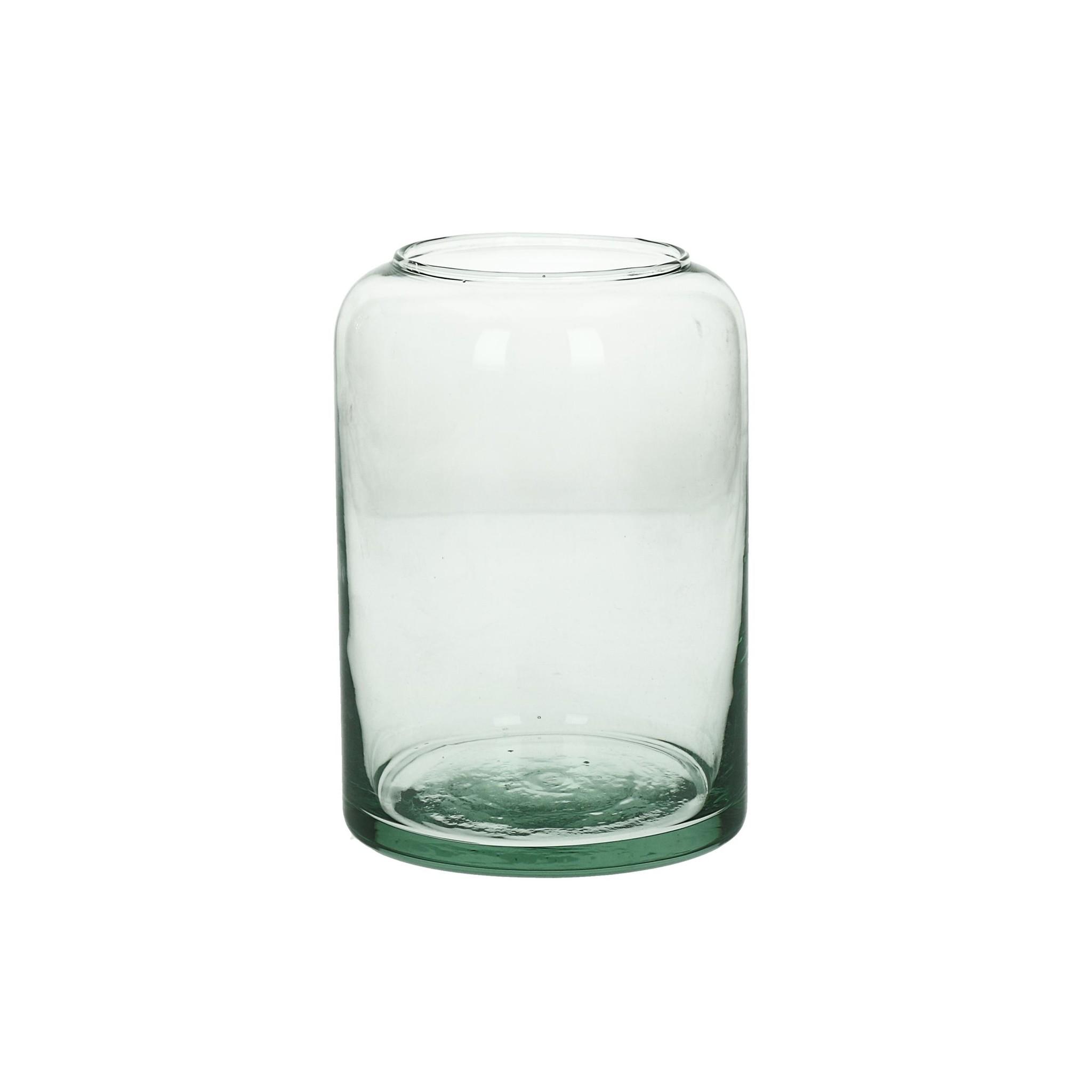 HOM - VAAS - GLAS - Dia 10 X H 15 CM-1
