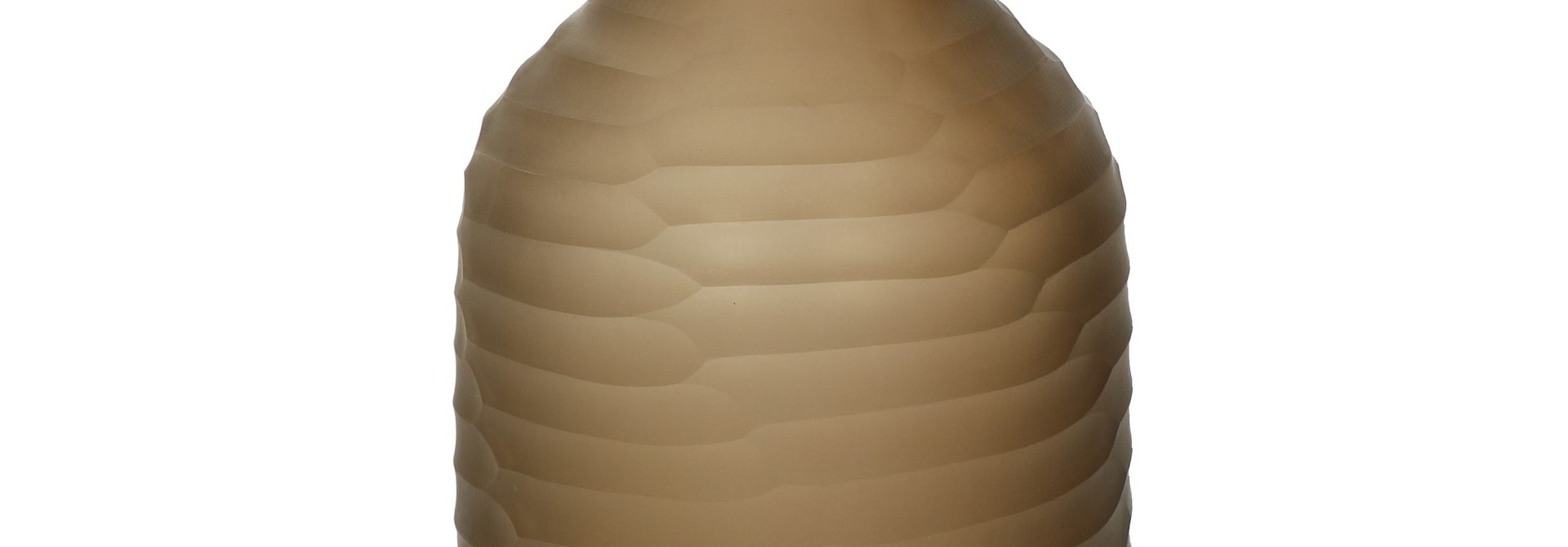 ORIZZO - VAAS - GLAS - DIA 16 X H 28 CM - BRUIN