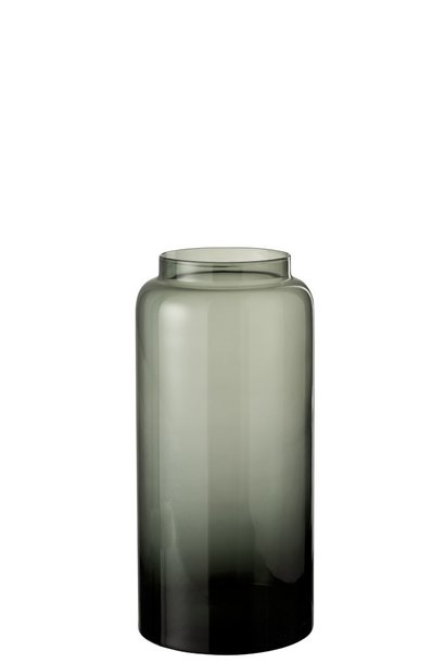 Vaas Glas Grijs Small