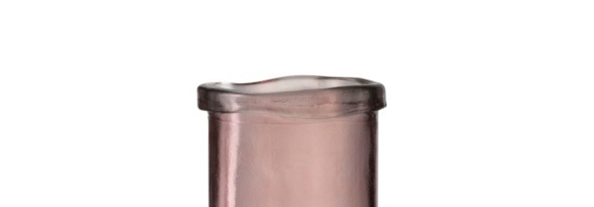 Vaas Virginie Glas Roze Large