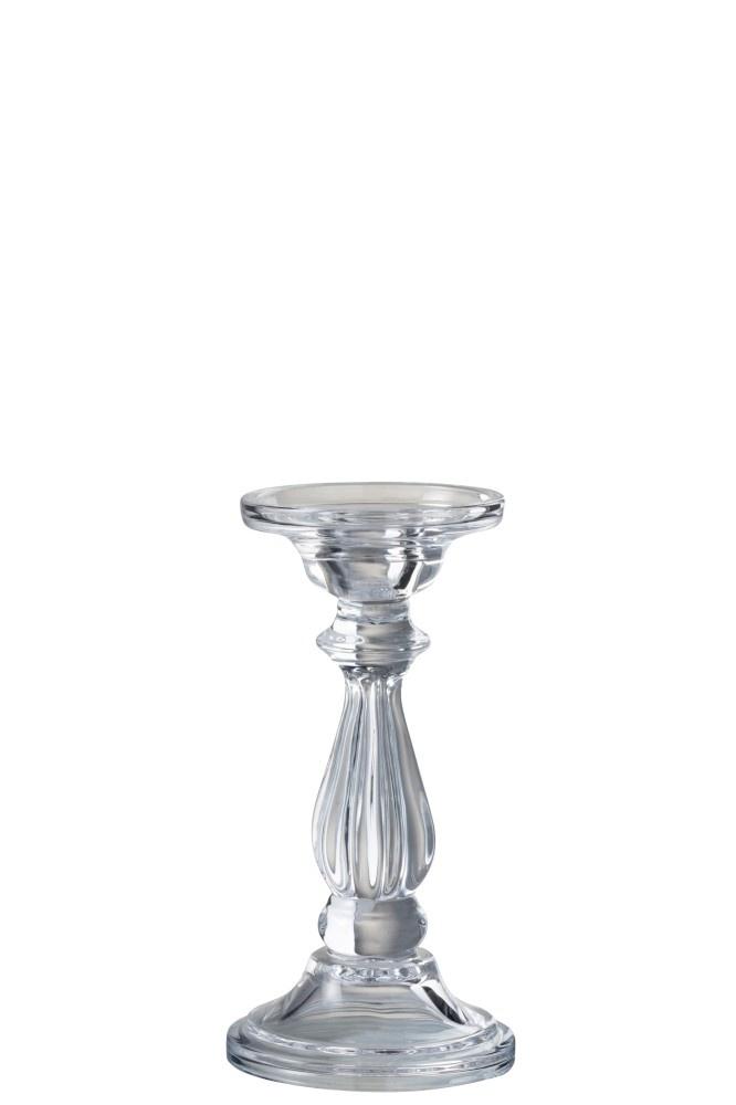 Kandelaar Glas Transparant Small-1
