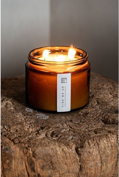 Amber Candle XL