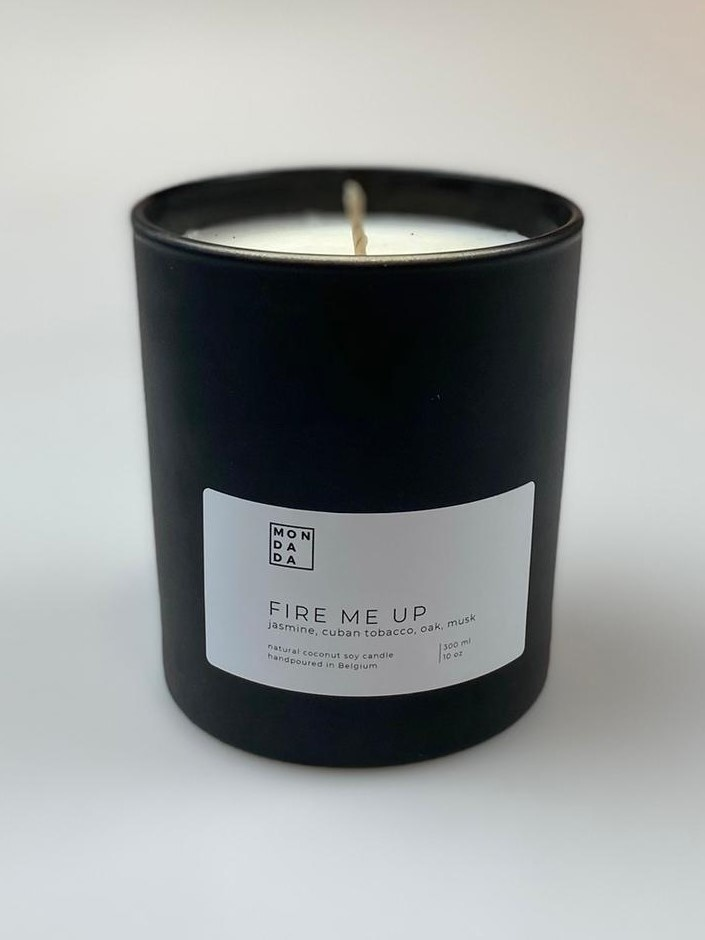Black Collection Candle - Medium-1