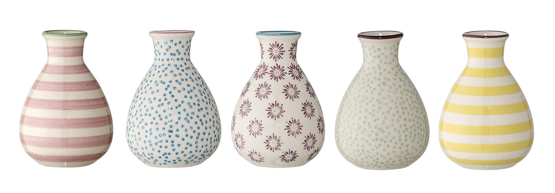 Ibi Vase - Stoneware - Set of 5