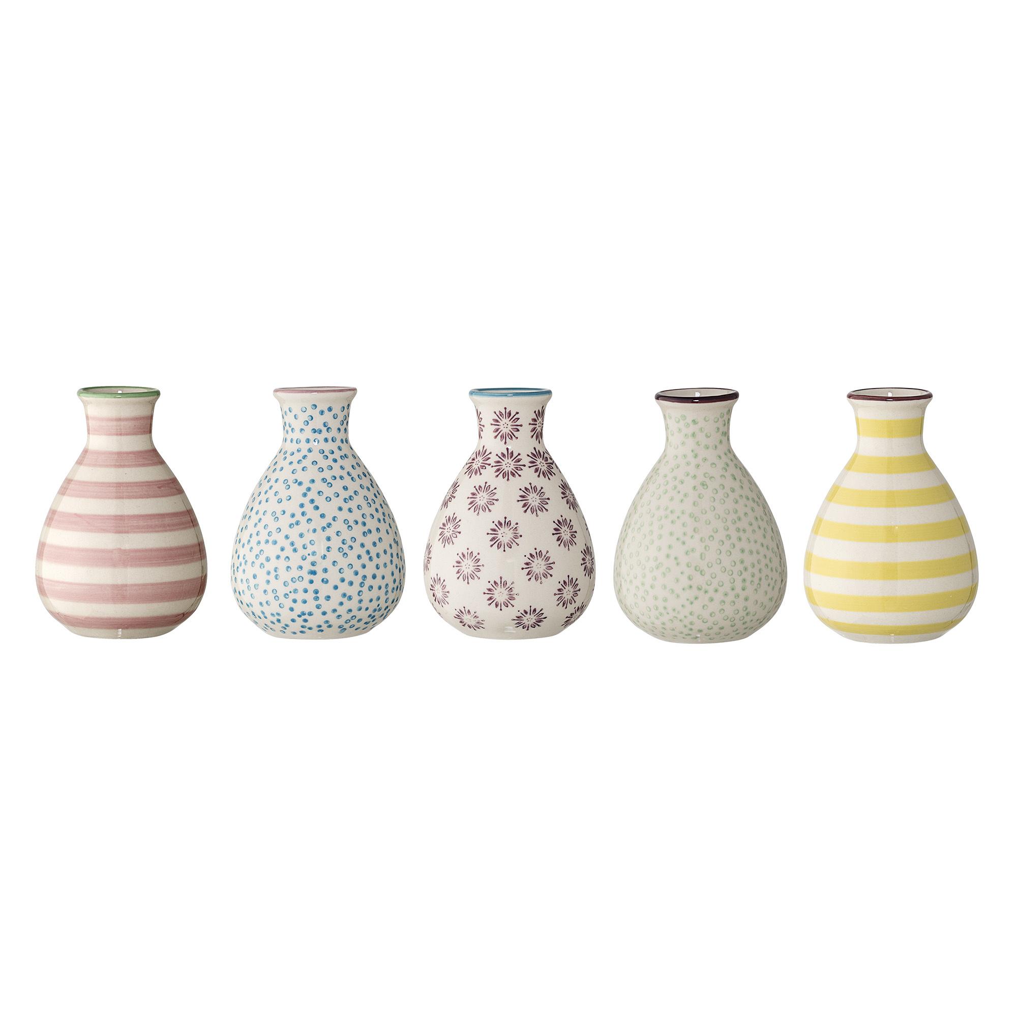 Ibi Vase - Stoneware - Set of 5-1