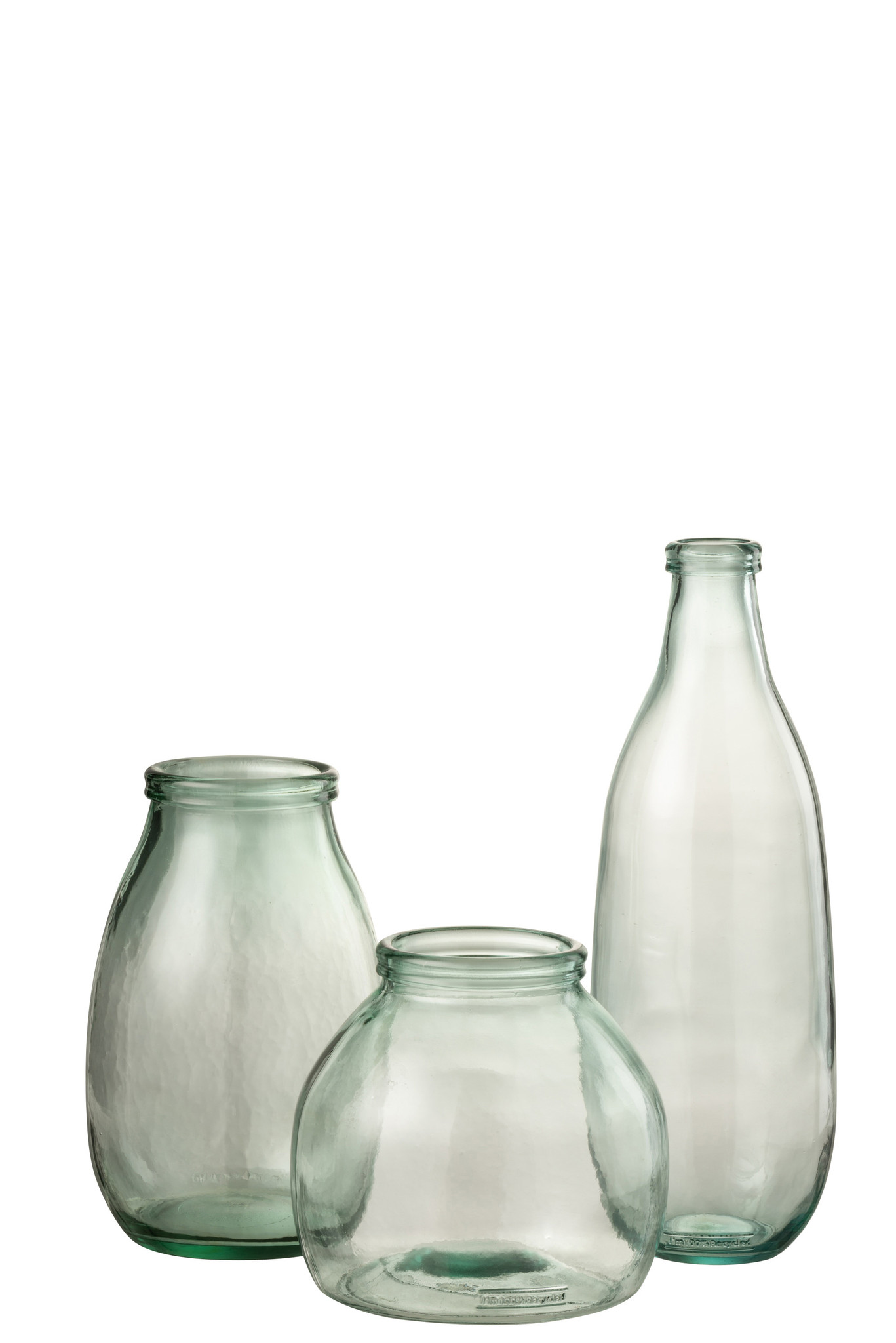 Vaas Fles Glas Transparant-3