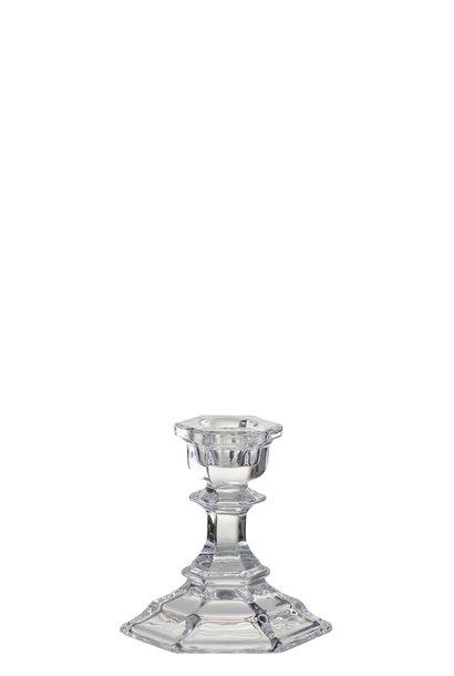Kandelaar Klassiek Glas Transparant Small