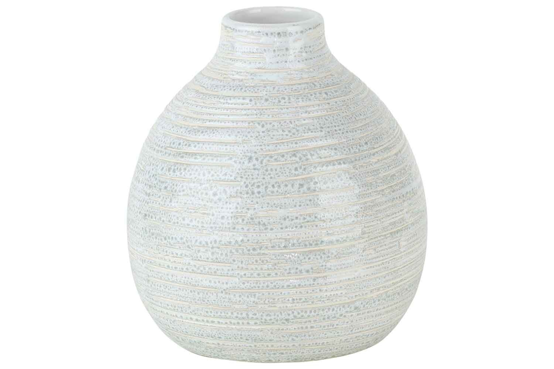 Vaas ballon creme rond aardewerk-1