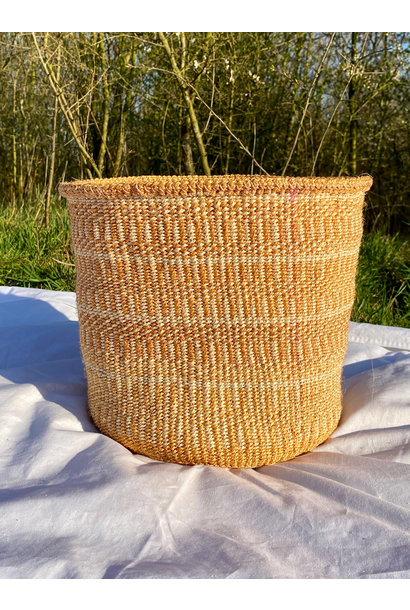 Hadithi Basket - Large colorfull / natural