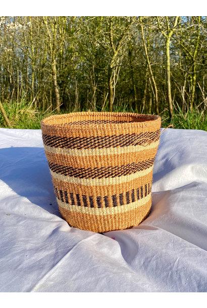 Hadithi Basket - Medium colorfull / natural