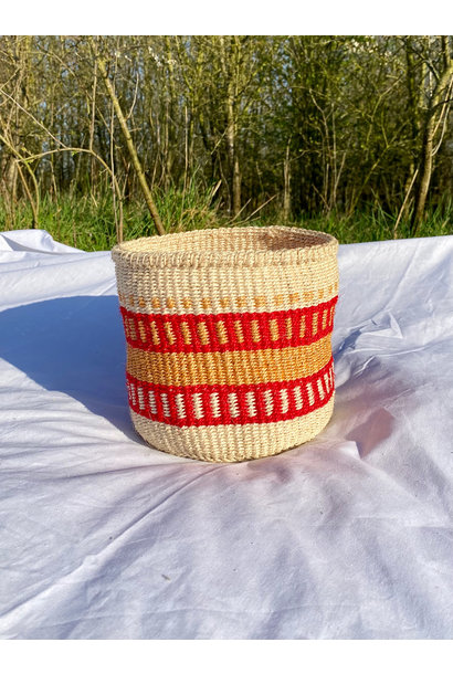 Hadithi Basket - Small colorfull / natural