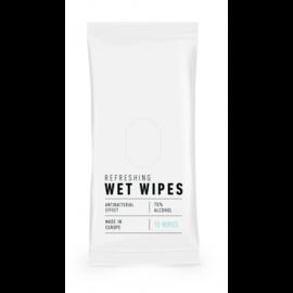 Hygienische vochtige doekjes 70%