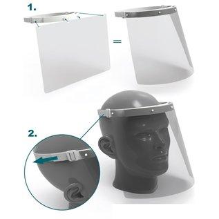 Gelaatscherm - Face shield - Luxe