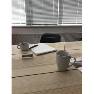 Huur: Plexiglas Bureau Scherm