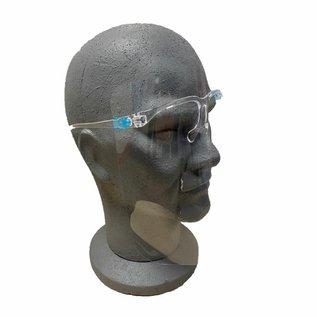Gelaatscherm - Face shield - Bril montuur