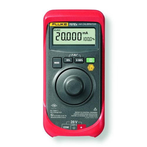 Fluke ATEX Fluke 707Ex - Intrinsically Safe Loop Calibrator