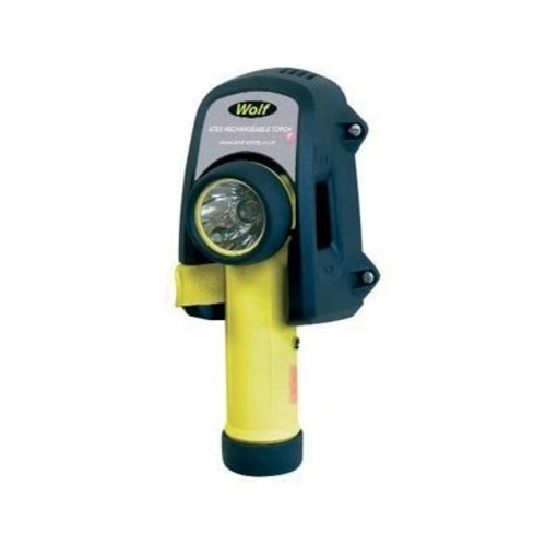 Wolf ATEX Wolf R-55 LED Rechargeable Torch, with charger