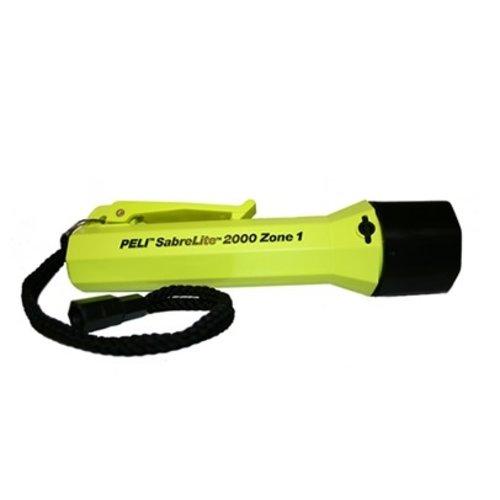 Peli Peli SabreLight 2000 Z1 Geel - ATEX zone 1 zaklamp