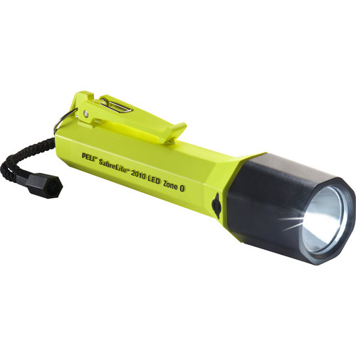 Peli Peli Sabrelite 2010Z0  Yellow - ATEX zone 0 flashlight