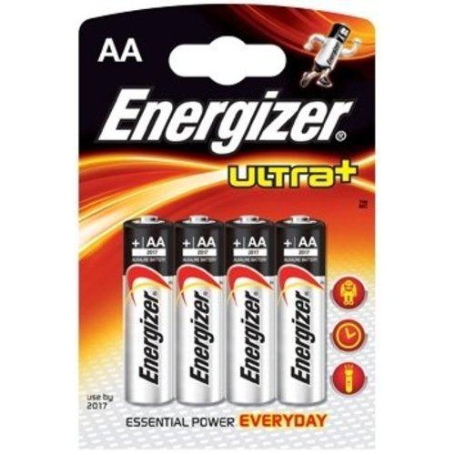 Energizer Energizer Ultra+ battery alkaline AA/LR6 1.5V 4-blister