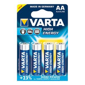 Varta Varta High Energy alkaline AA/LR6 1.5 V 4-blister