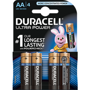Duracell Duracell Ultra Power MX1500 AA/LR6 1.5V 4-blister