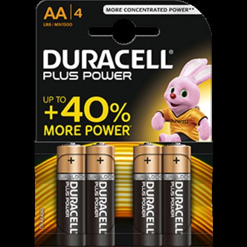 Duracell Duracell Plus Power MN1500 AA/LR6 1.5V 4-blister